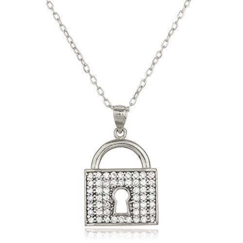 14K White Gold Layered Anchor Necklace...