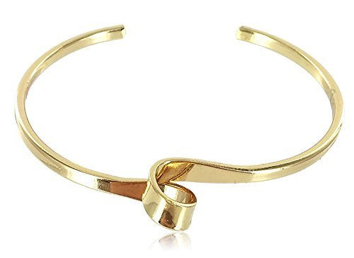 Adjustable Cuff Bracelet with a Knot...