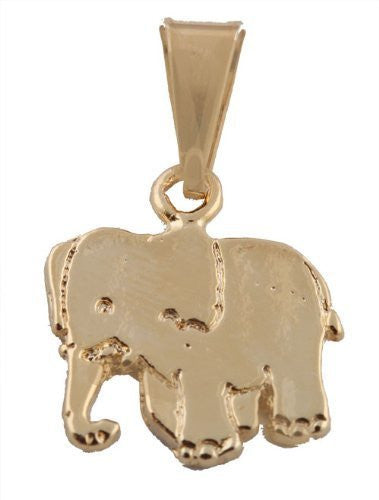 4 Pieces of Gold Overlay Elephant...
