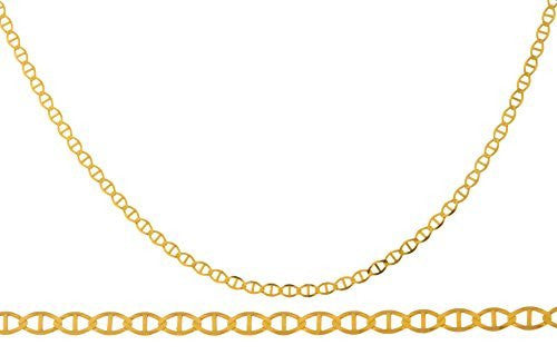 Women's 14K Yellow Gold 1.5mm Mariner...