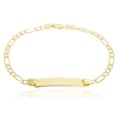 10K Gold Pave 6 Inch Children's...
