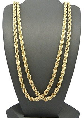 Rappers' 2 Piece Goldtone 6mm 30...