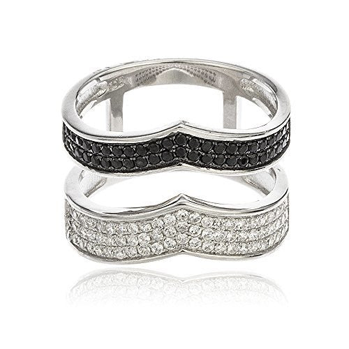 925 Sterling Silver Layered Chevron Style...