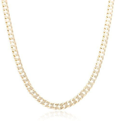 8mm Concave Cuban Chain