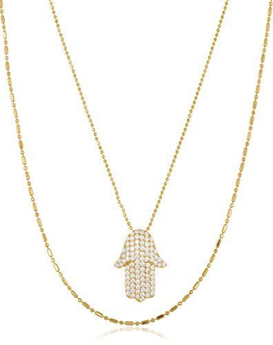 A Gold Hamsa Necklace aims to thrill