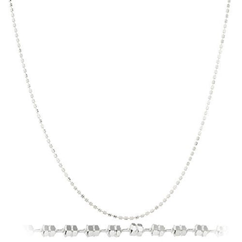 925 Sterling Silver 1.5mm Camilla Chain Necklace