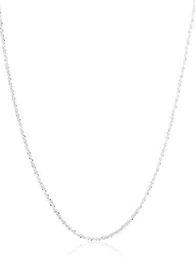 "925 Sterling Silver 1.7mm Swirl Rock Chain- 7"" 8"" 10"" 16"" 18"" & 20"" Available"