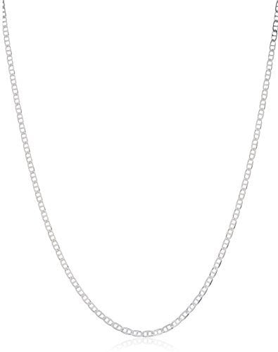 925 Sterling Silver 2mm Mariner Chain...