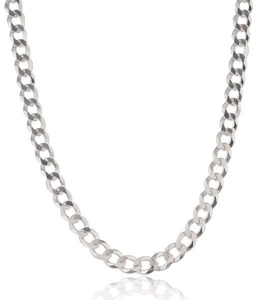 925 Sterling Silver 9mm Prolux Cuban Chain