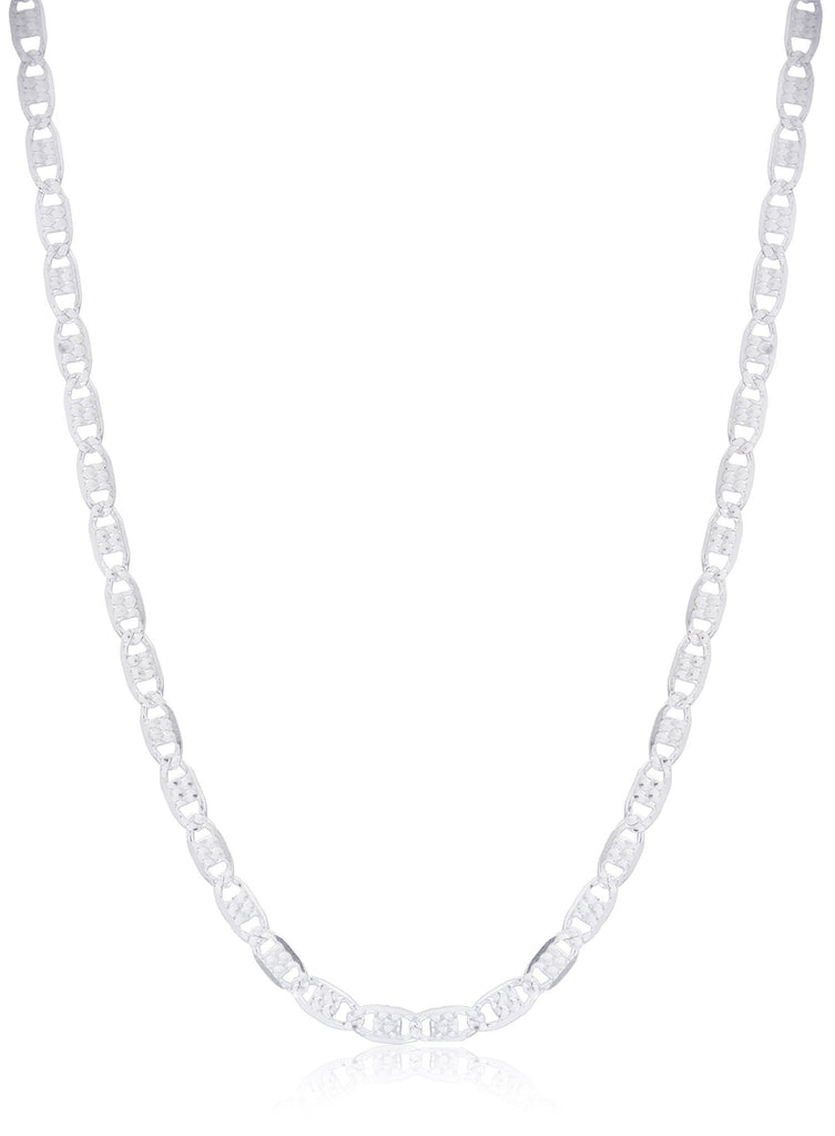 925 Sterling Silver Reversible Valentino Chain...