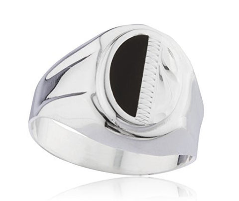 925 Sterling Silver Two-Tone Ring