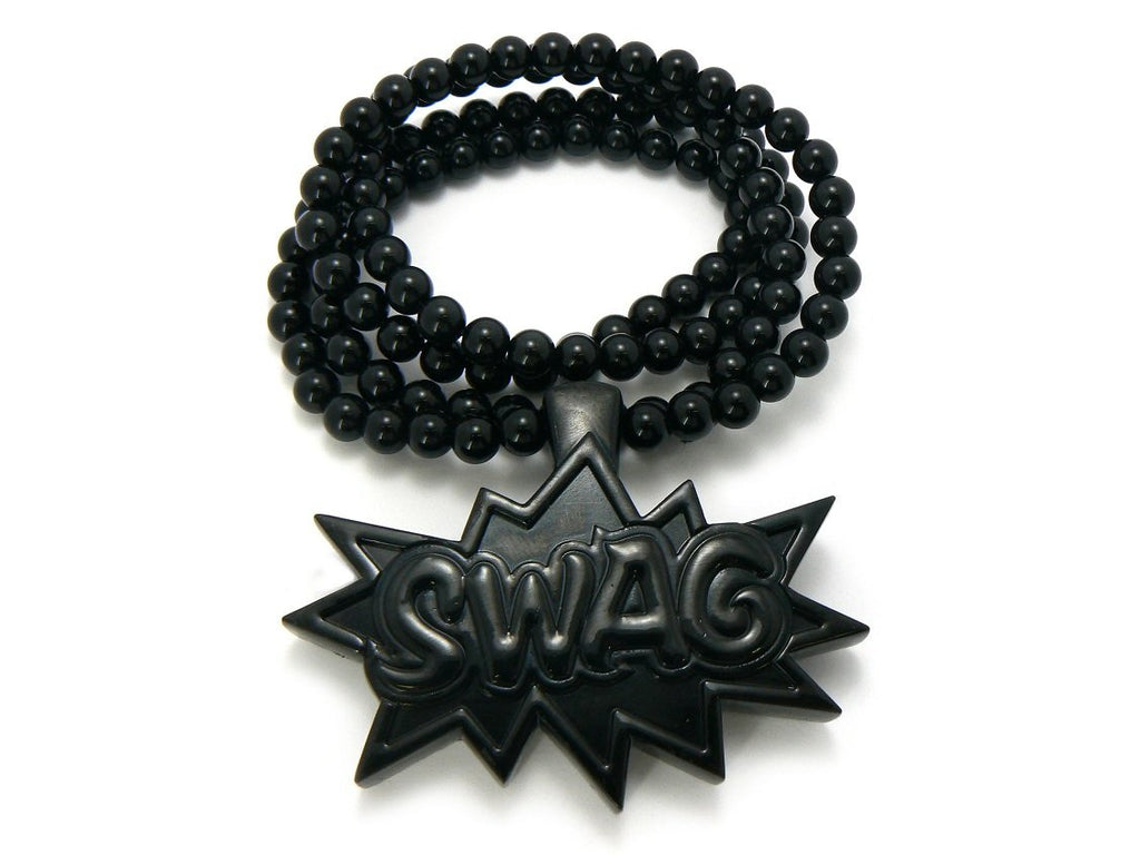 Black Swag Pendant With A 36...