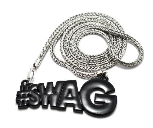 Black #Swag Pendant With A 4mm...