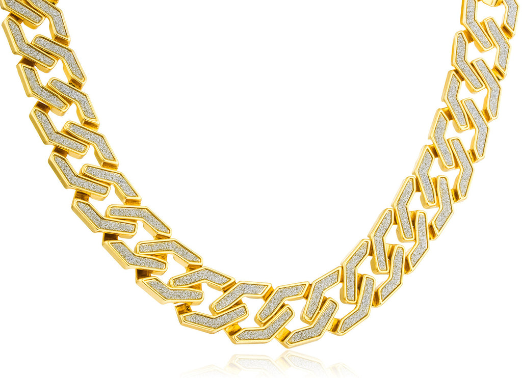 Bracelet Or Necklace - 20mm Goldtone...