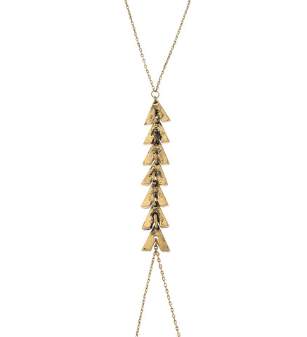 Center Chevron Multi 'V' Body Chain