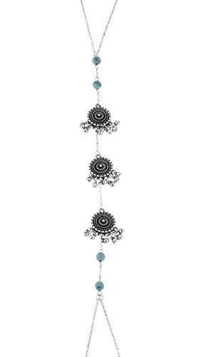 Center Dangling Dreamcatchers Body Chain