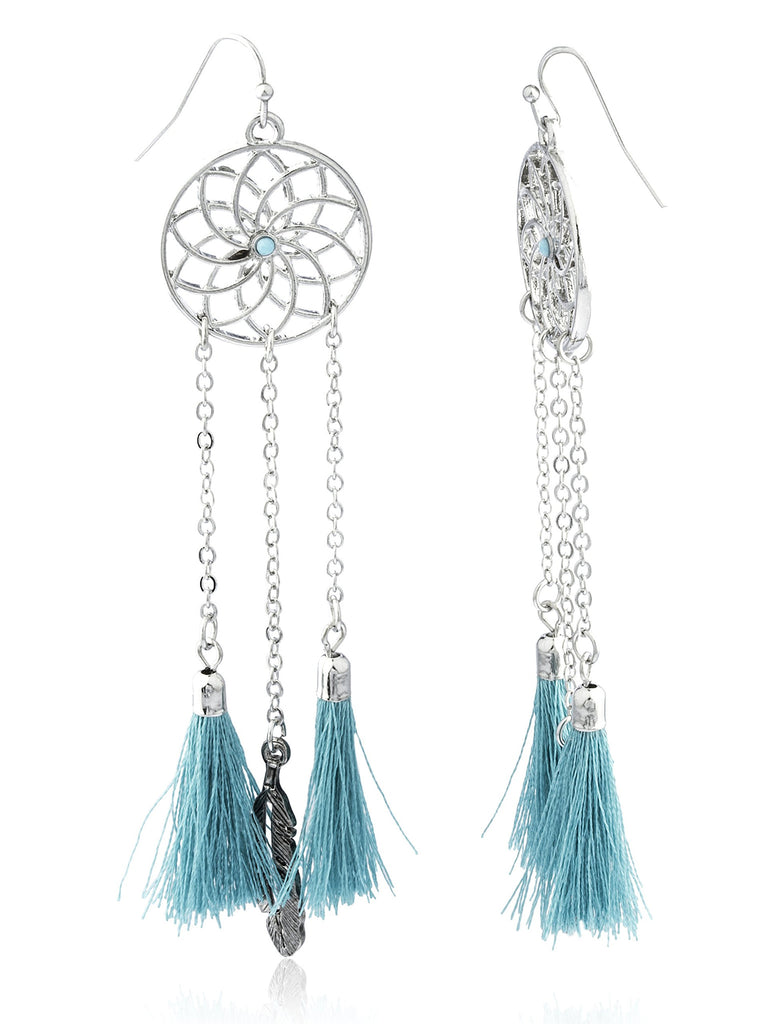 Dream Catcher With Fringes And Feathers...