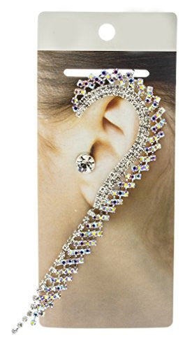 Fancy Bridal Style Ear Cuff Earrings...