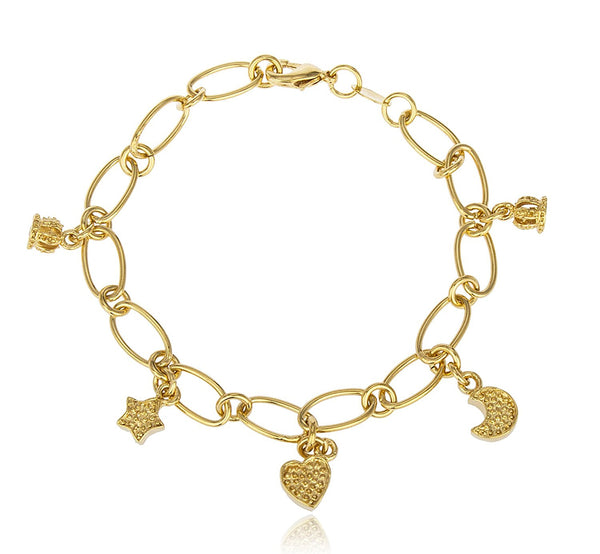 Multi Royal Charm Bracelet