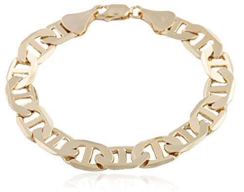 Goldtone 13mm Flat Mariner Chain