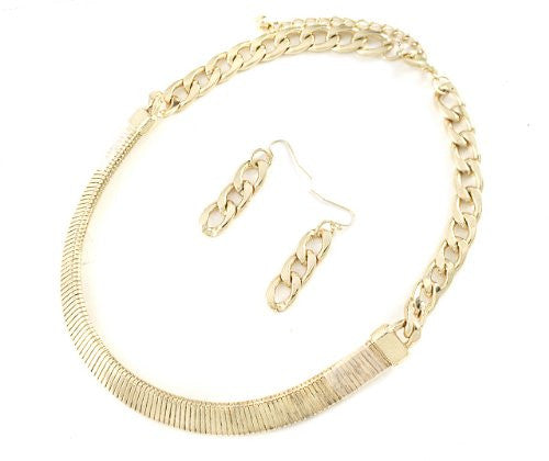 Goldtone 18 Inch Adjustable 14mm Omega...