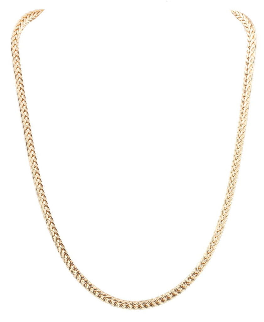 Goldtone 18 Inch Franco Chain Necklace...