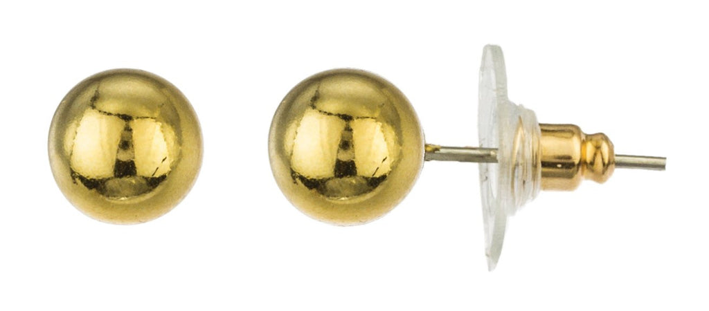 Goldtone 3-pack Stud And Drop Earrings...