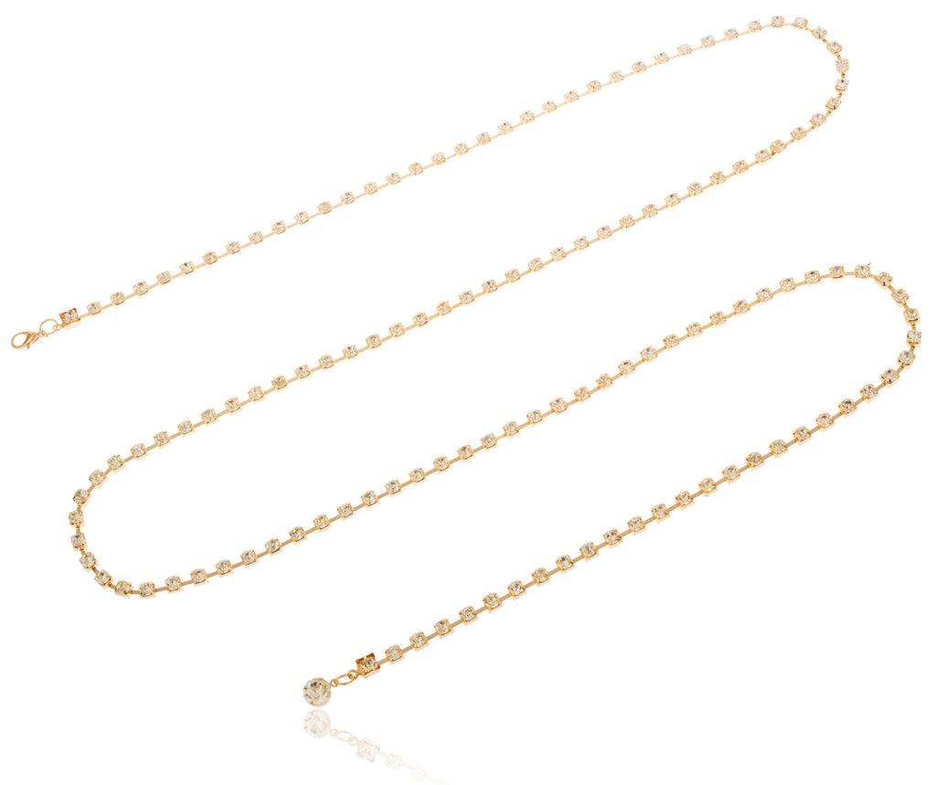 Goldtone Adjustable Length Box Links With...