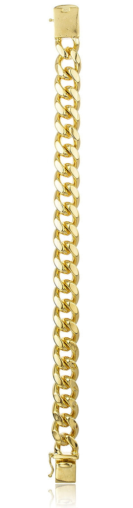 Goldtone Brass 13mm Miami Cuban Chain...