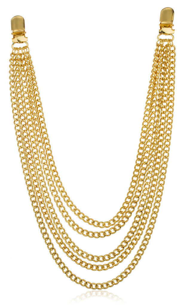 Goldtone Jean Chain With 5 Layered...