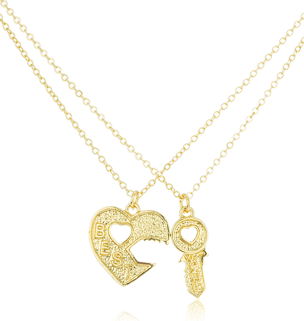 Goldtone Key To The Heart