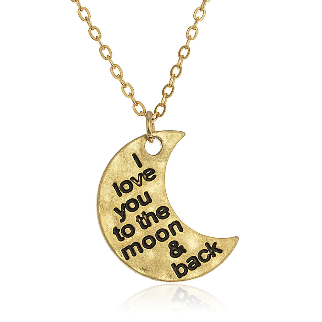 Goldtone 'To The Moon And Back'...