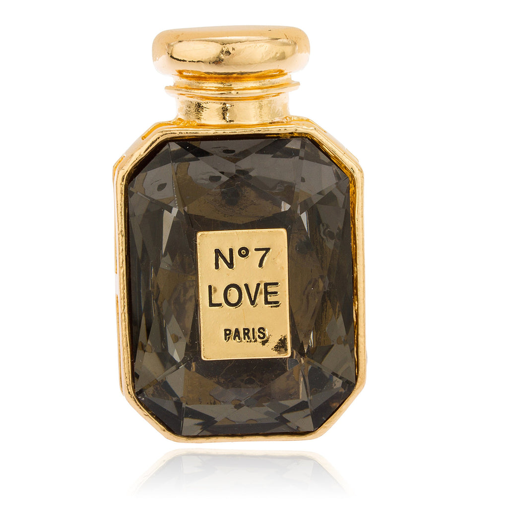 Goldtone With Black Stone No7 Love...