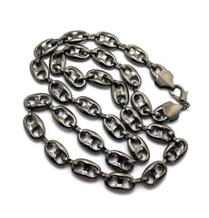 Gun Metal 13mm 30 Inch G-link Chain
