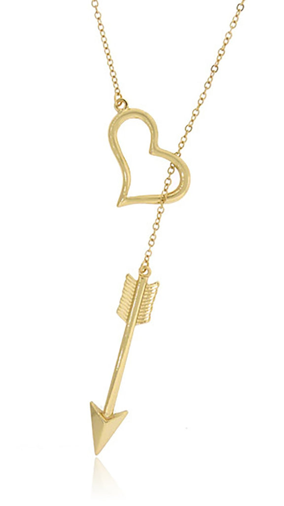Ladies Large 'Shot With Love' Pendant...
