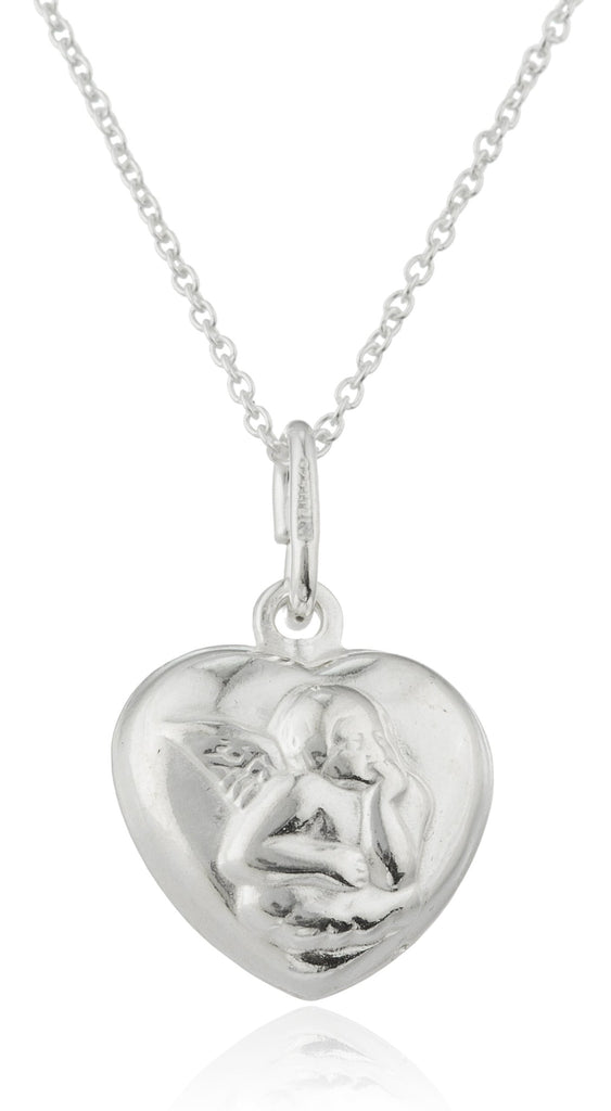 Ladies Real 925 Sterling Silver 'Heart...
