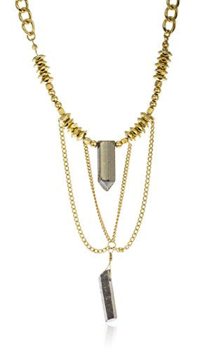 Link Chain Necklace With Tassel And...