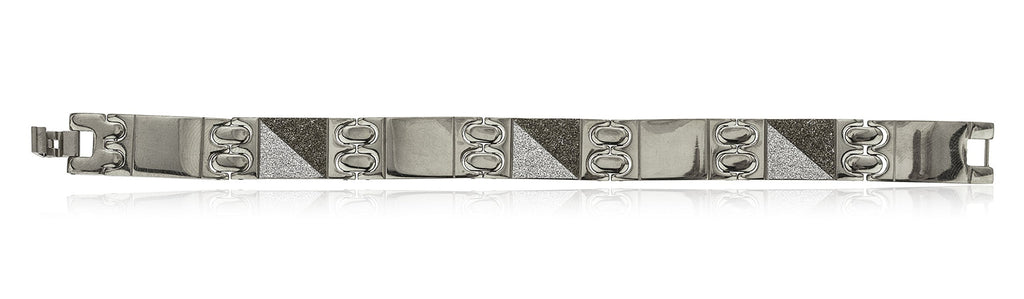 Men's Stainless Steel 8.5 Inch Bracelet...