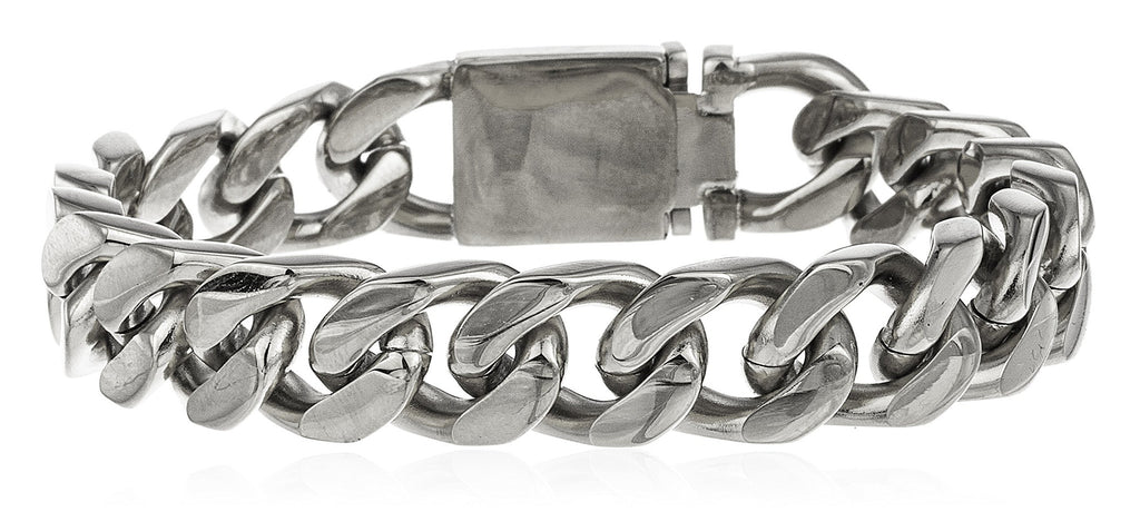 Men's Stainless Steel Cuban Chain 9...