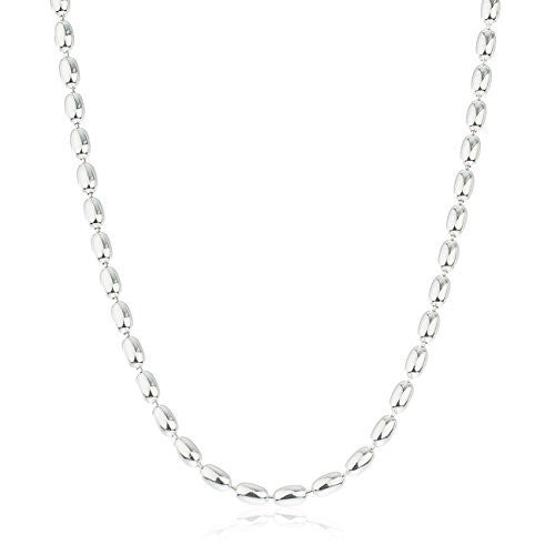 part chain item beaded stainless chains from buckle fashion necklaces jewelry waist steel ball in necklace bead with