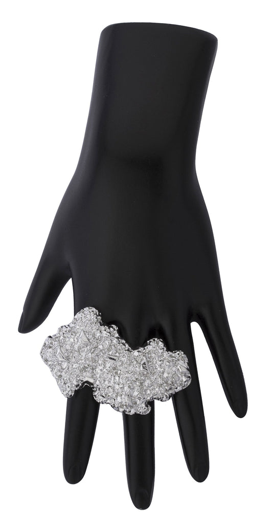 Nugget 2 Finger Open Cuff Ring...