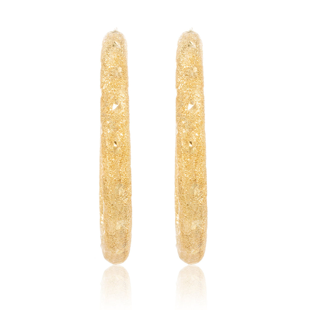 Pair Of Real 10k Yellow Gold...