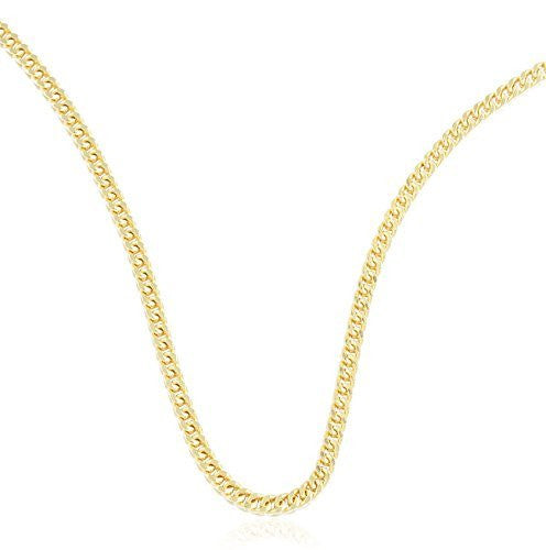 Real 10k Yellow Gold 3.5mm Franco...