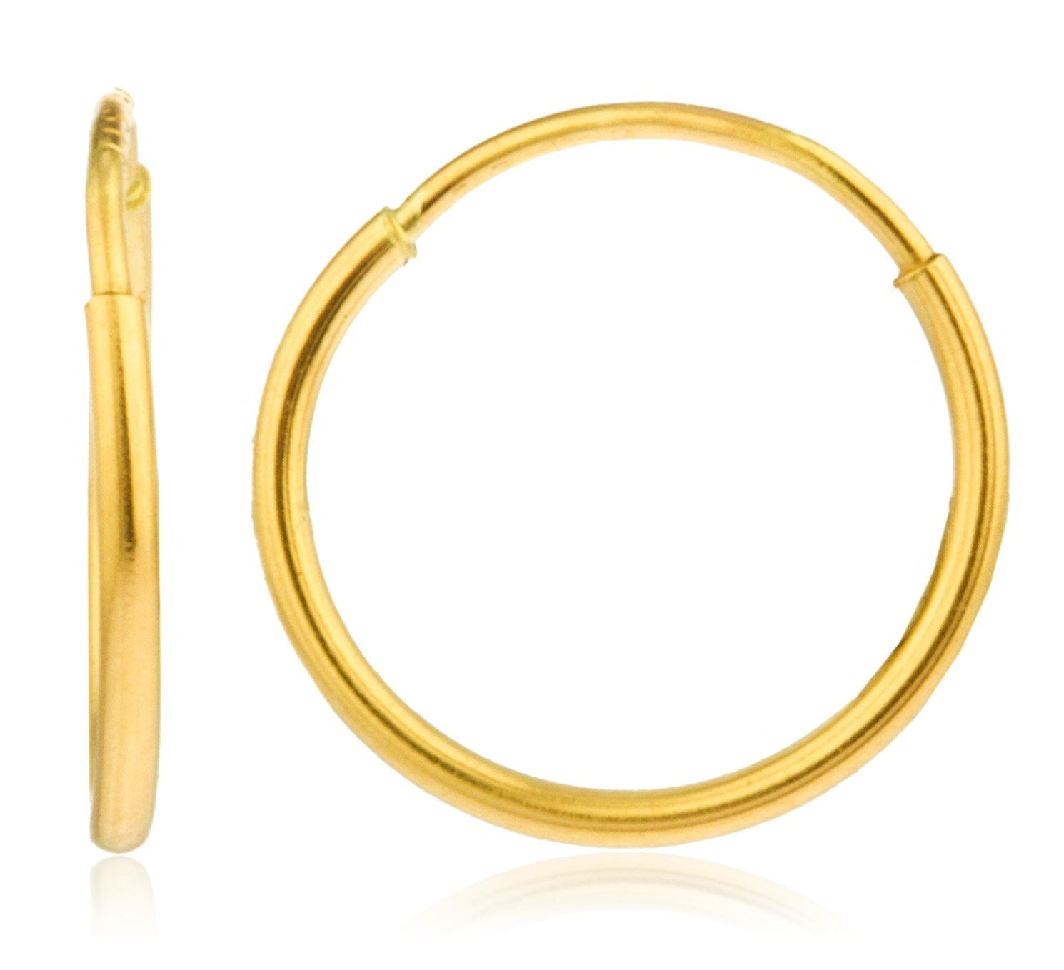 earrings various jewellery products available endless real in yellow sizes hoop gold