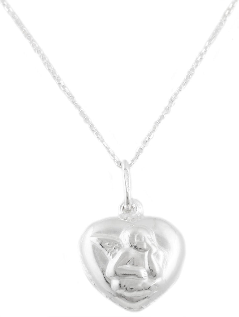 Real 925 Italy Sterling Silver Heart...