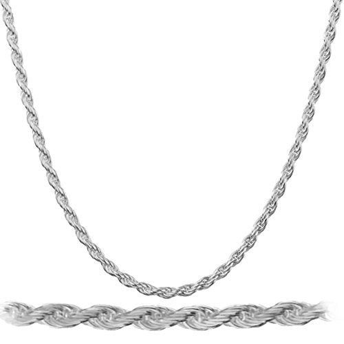 Real 925 Rhodium Plated Sterling Silver...