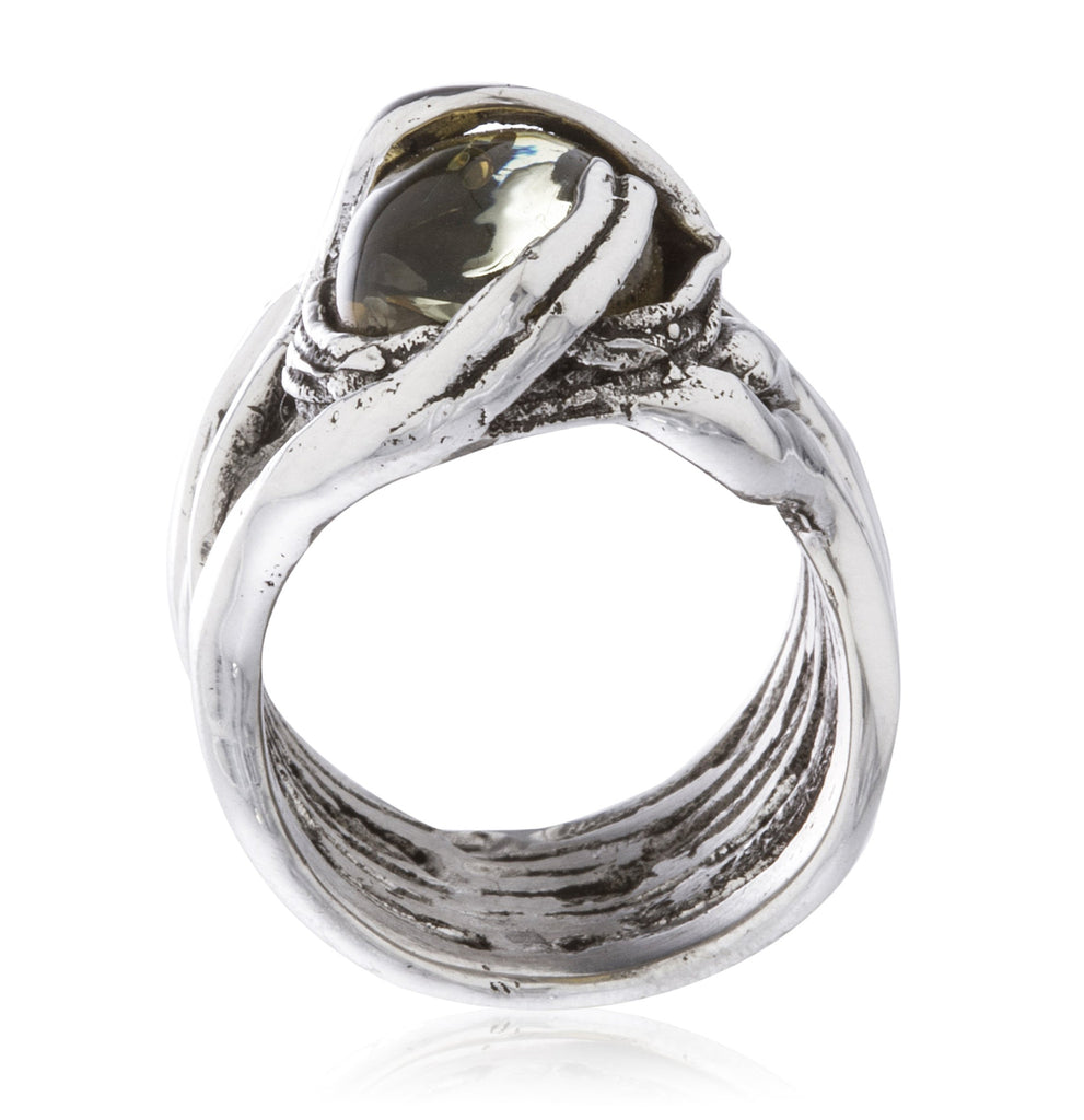 Real 925 Sterling Silver Basket Swirl...