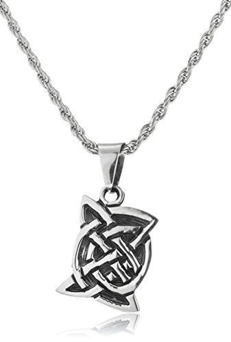 Real 925 Sterling Silver Celtic Pendant...