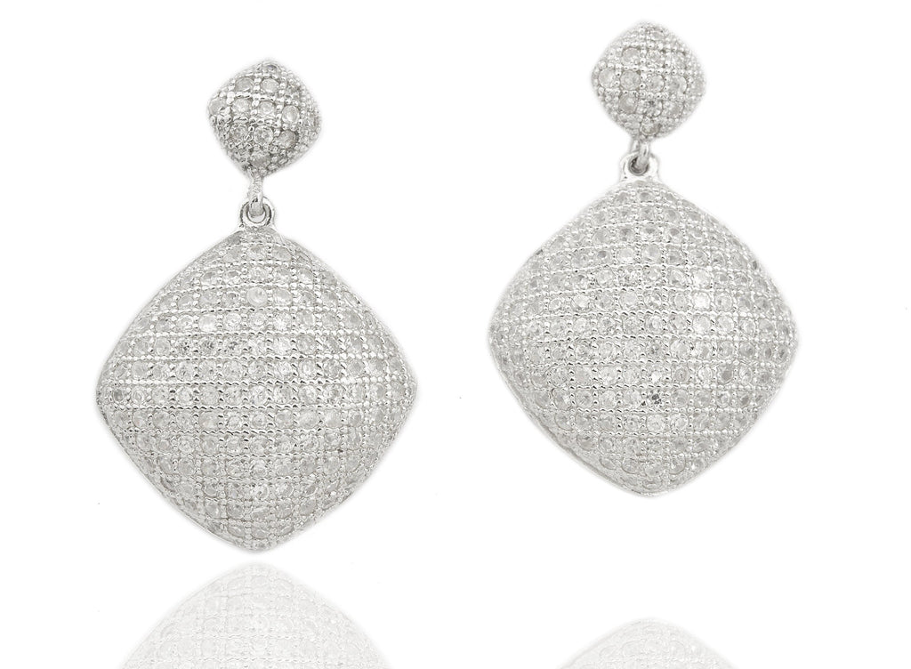 Real 925 Sterling Silver Cubic Zirconia...