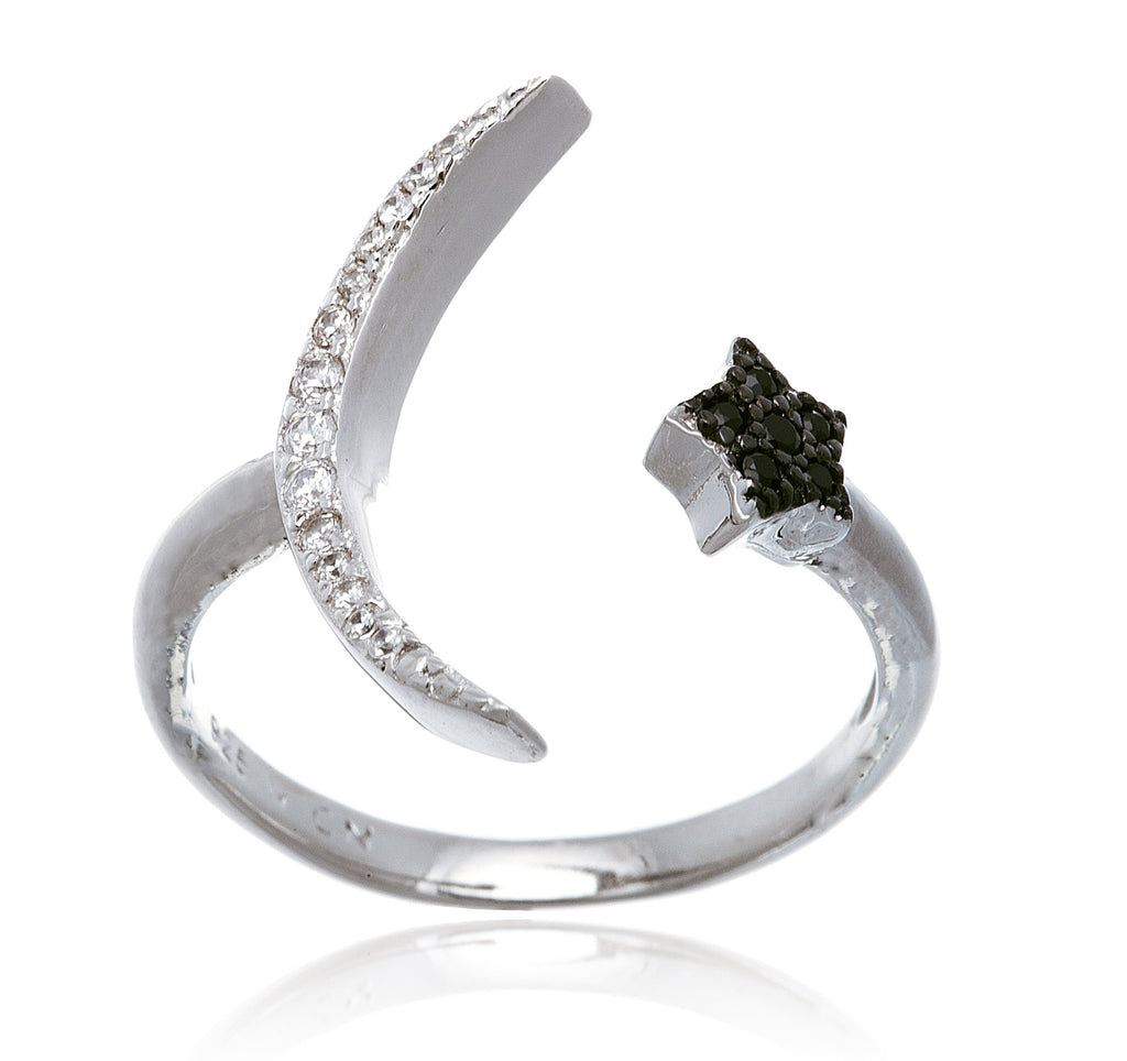 Real 925 Sterling Silver Cz Half...